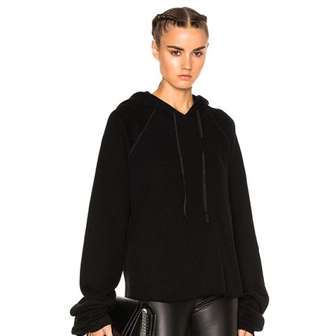 Fwrd Exclusive Oversize Sleeve Cashmere Hoodie