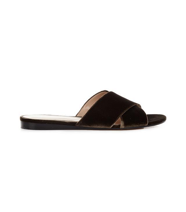Gianvito Rossi Velmara Velvet Sandals