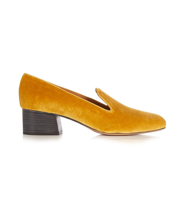 Chloe Kingsley Velvet Loafers