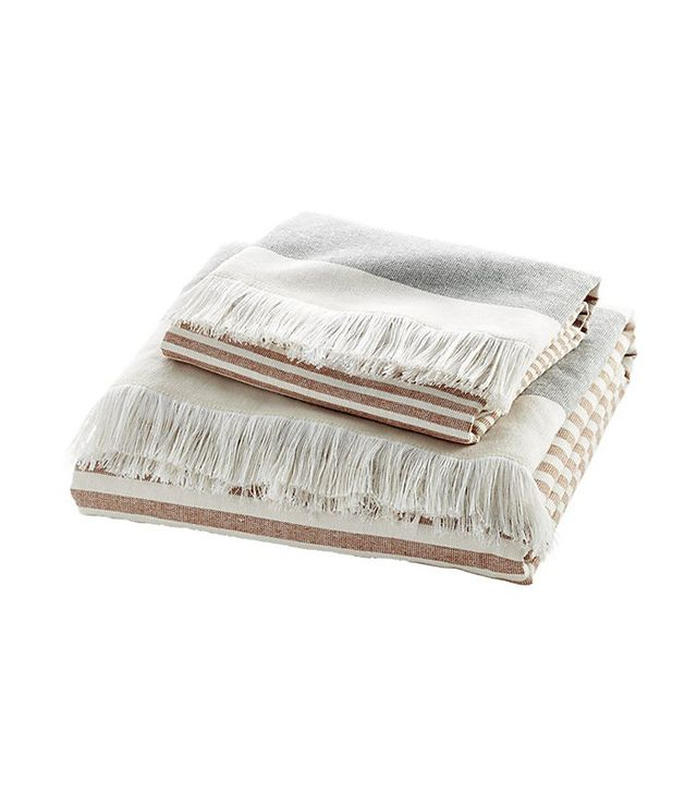 CB2 Karla Copper Bath Towels