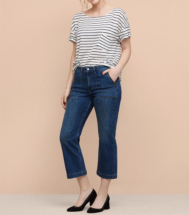 Violeta Flare Crop Dakota Jeans