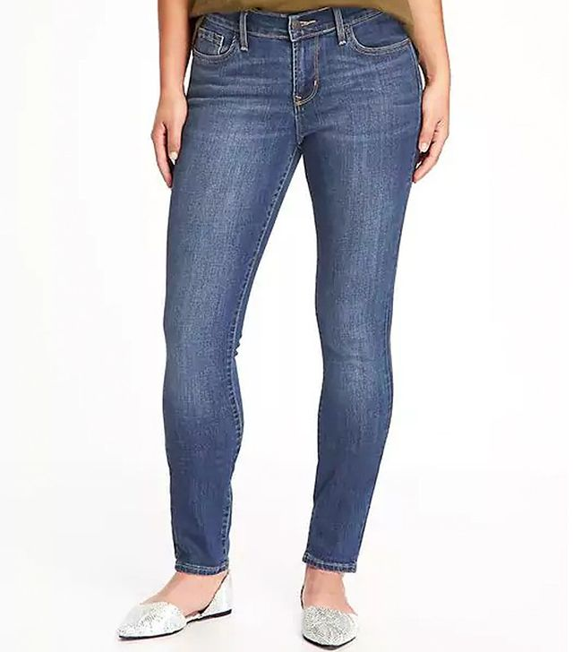 Old Navy Curvy Mid-Rise Skinny Jeans