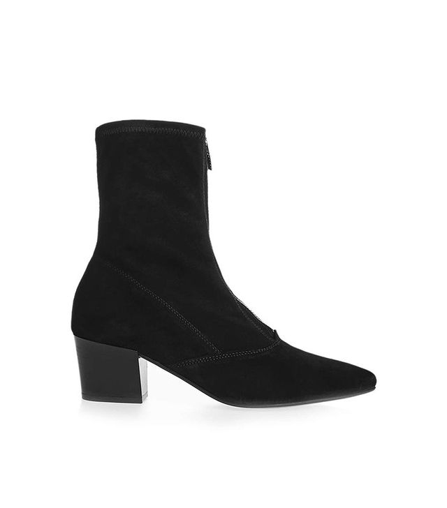 Topshop Martini Zip Front Boots