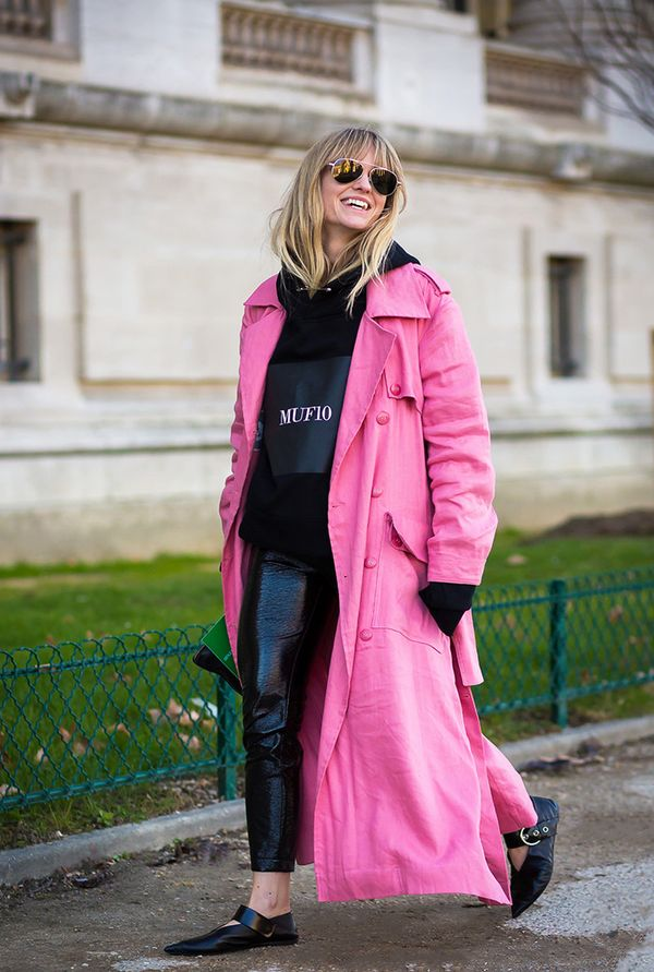 Pink-Trench-Coat-Street-Style