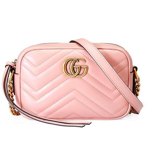 GG Marmont Metlasse Mini Bag