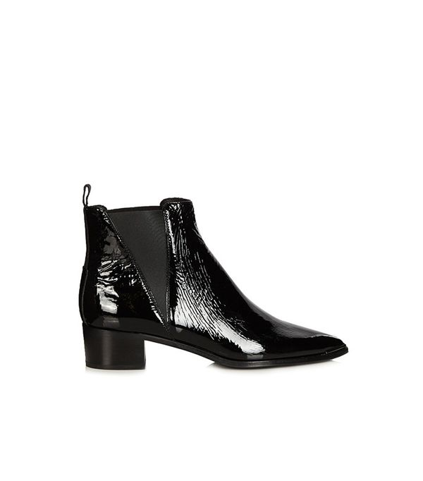 Acne Studios Jensen Patent Leather Boots