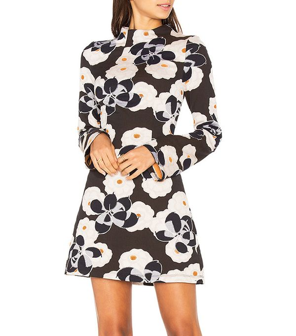 Suno Mock Neck Dress