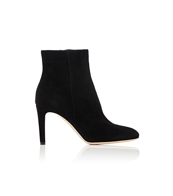 Gianvito Rossi Side-Zip Ankle Boots