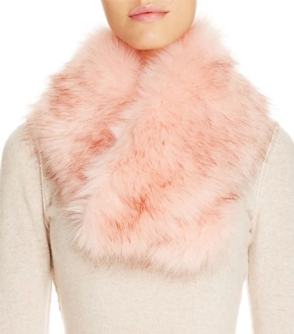 Cara Accessories Faux Fur Collar