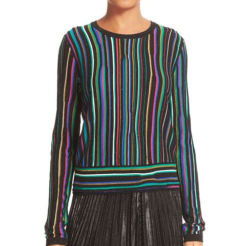Arisha Nep Stripe Sweater