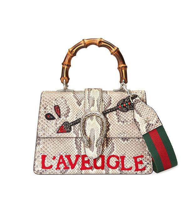 Gucci Dionysus Python Top Handle Bag