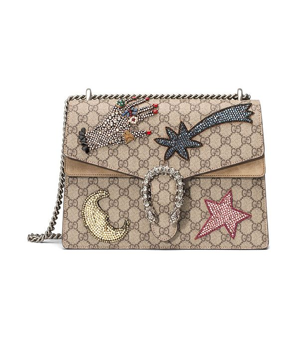 Gucci Dionysus Embroidered Shoulder Bag