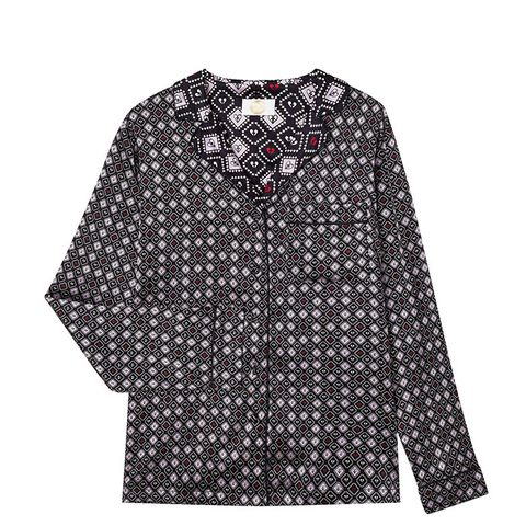 Ace of Spades Silk Shirt
