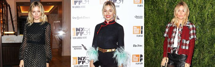 4 Holiday Dressing Rules, Straight From Sienna Miller