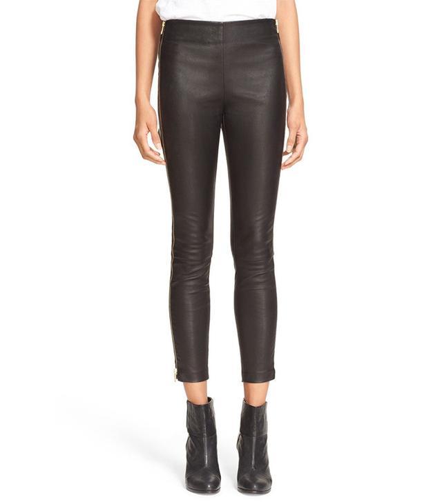Rag & Bone Chatel Side Zip Leather Pants