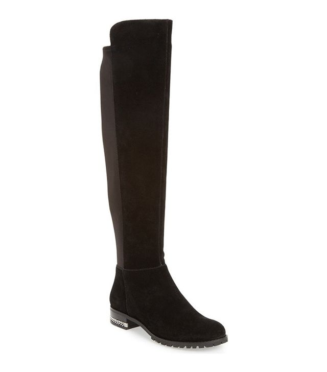 Michael Michael Kors Sabrina Over the Knee Stretch Back Boot