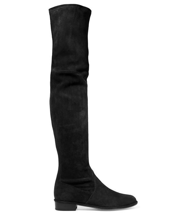 Stuart Weitzman Thighscraper Suede Over-the-Knee Boots