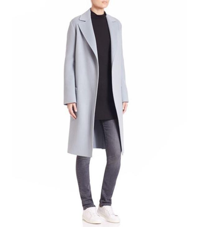 Helmut Lang Wool & Cashmere Coat