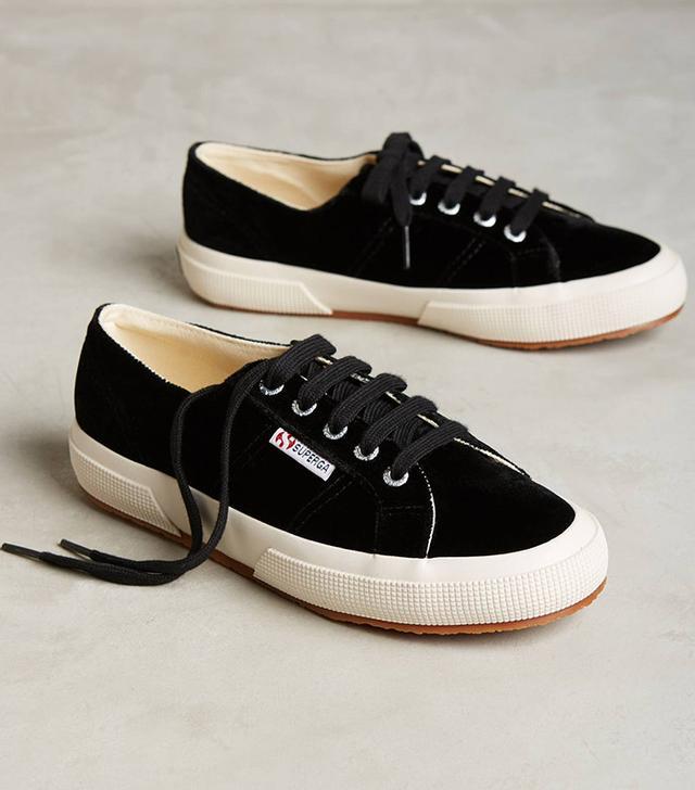 Superga Velvet Sneakers