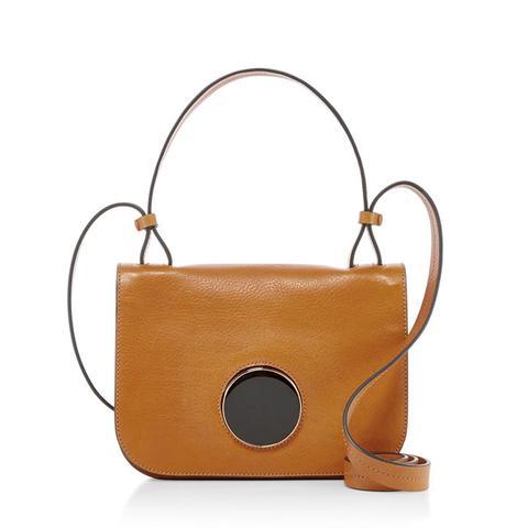 Circle Closure Shoulder Bag