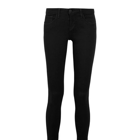 The Chantal Low-Rise Skinny Jeans