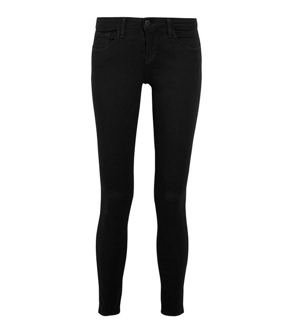 L'Agence The Chantal Low-Rise Skinny Jeans