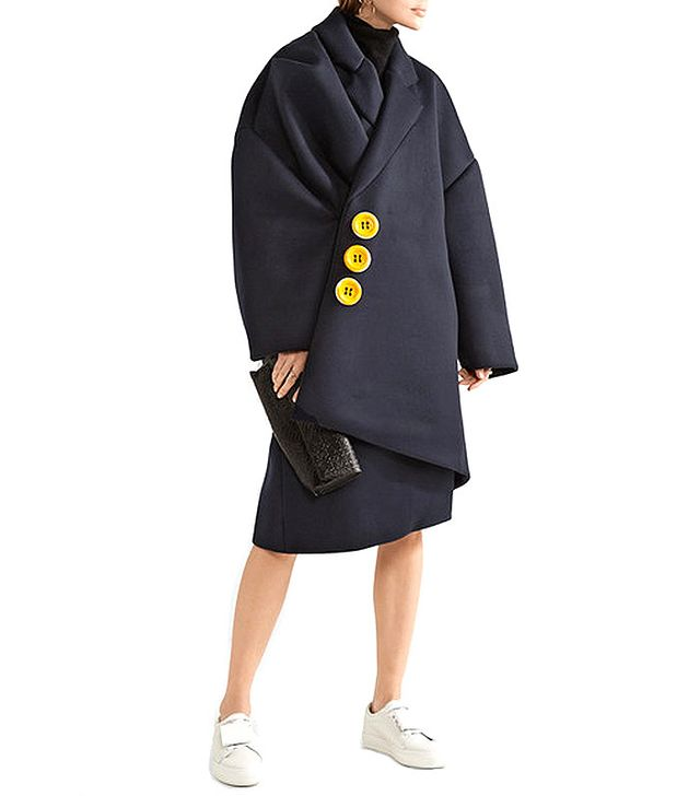 Jacquemus Oversized Embellished Coat