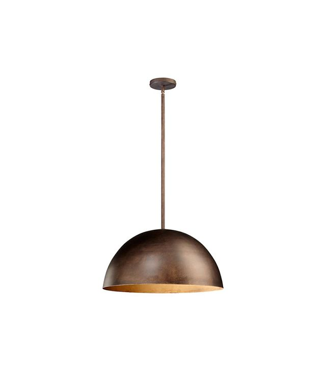 One Kings Lane Carson Pendant, Oiled Bronze