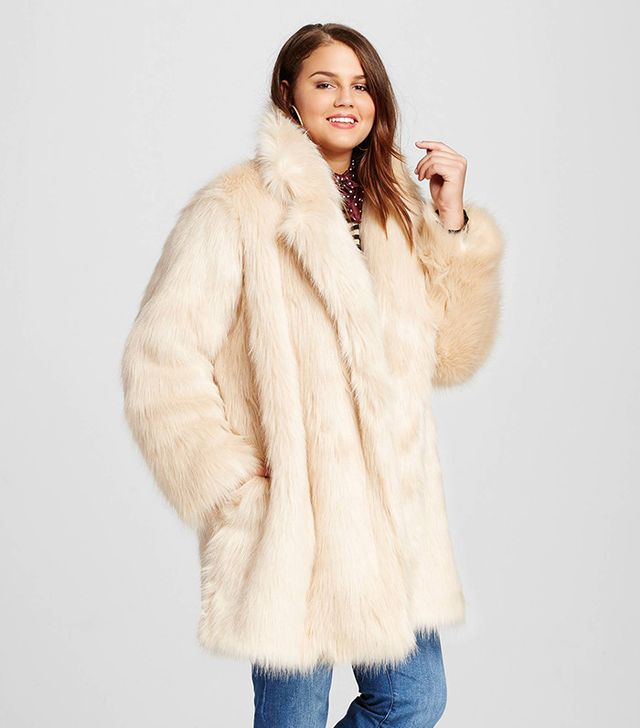 This Affordable Faux-Fur Coat Looks 10 Times Its Price | WhoWhatWear