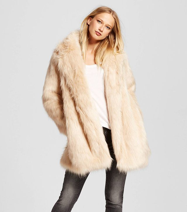 Who What Wear Fur Jacket