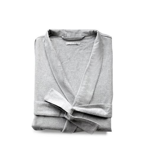 Unisex Organic Cotton Flannel Robe