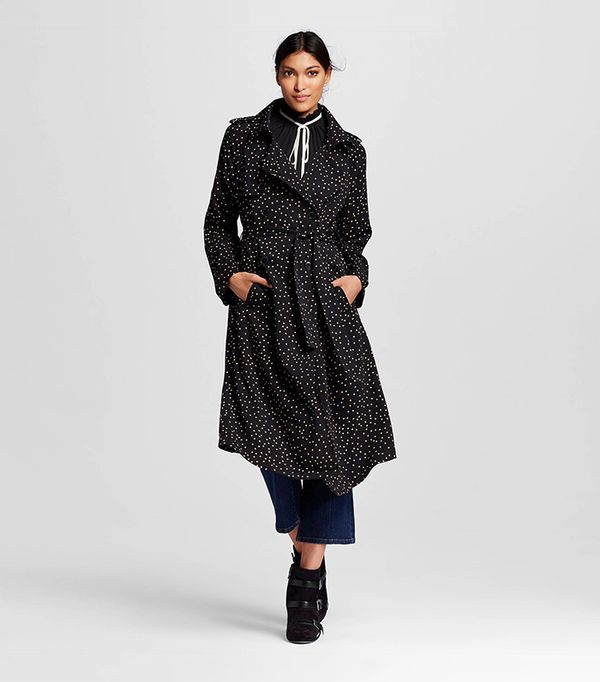 Who What Wear Drapey Trench