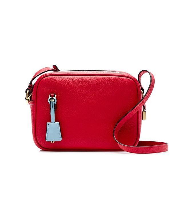 J.Crew Signet Crossbody Bag in Italian Leather