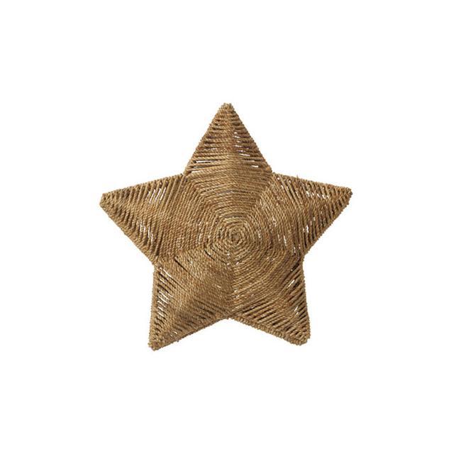 IKEA Pendant Star Lamp Shade in Brown