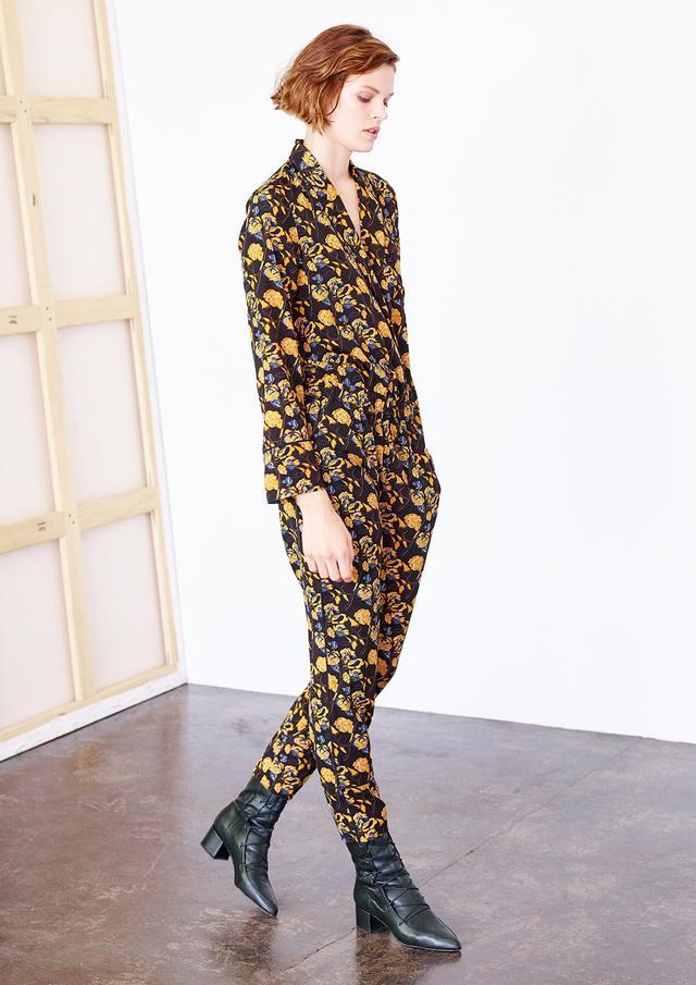 Thakoon Marigold Floral Jumpsuit