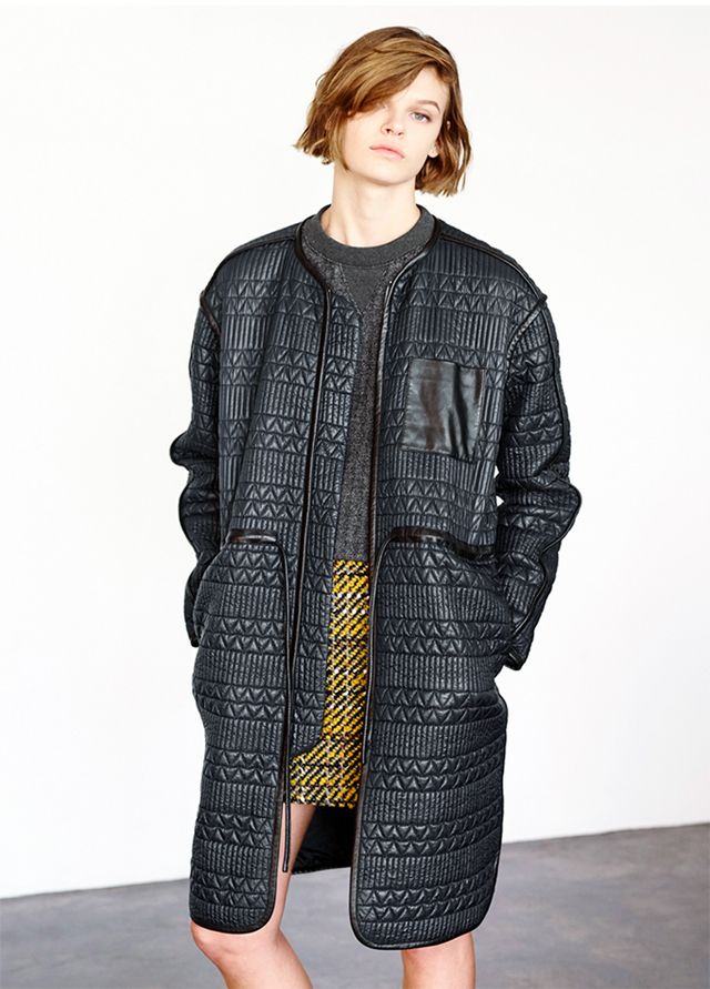 Thakoon Quilted Puffer Coat