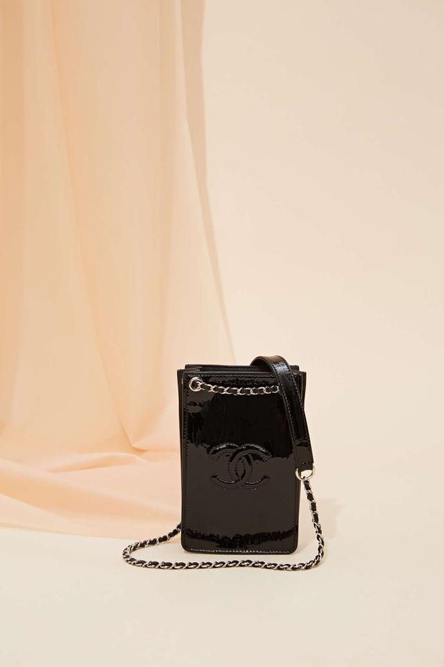 Vintage Chanel Patent Leather Crossbody Bag