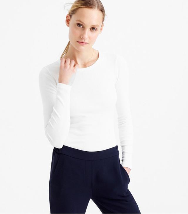 J. Crew Perfect Fit Long-Sleeve T-Shirt