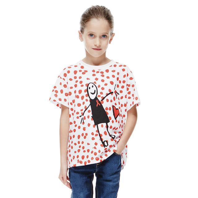 Victoria Beckham World AIDS Day Children's Tee