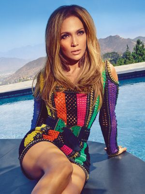 Jennifer Lopez Looks Amazing In Harper's Bazaar, Wearing the Shoes She Designed