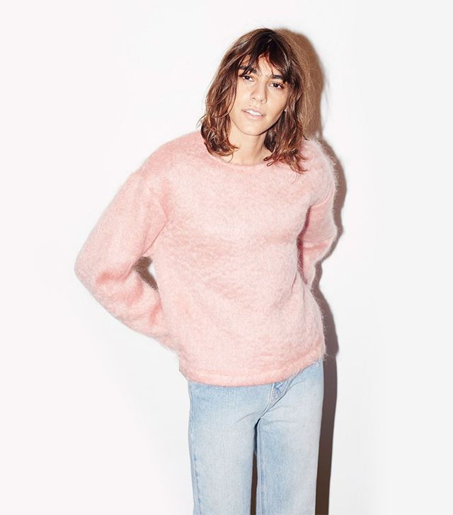 Datura Candy Rose Mohair Cosy Sweater