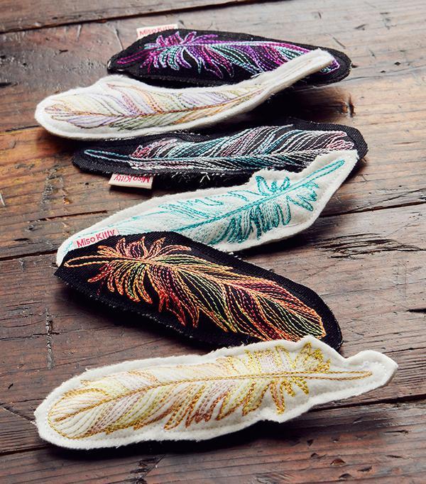 Miso Kitty Catnip Feathers