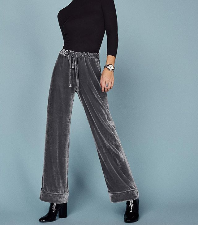 Reformation Nolan Pant In Grey
