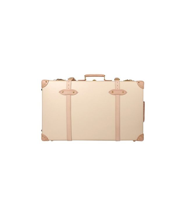 Globe Trotter Safari Leather-Trimmed Suitcase