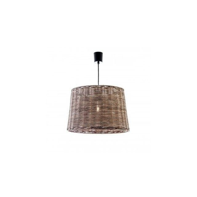 Emac & Lawton Pendant Light Natural Wicker Beach