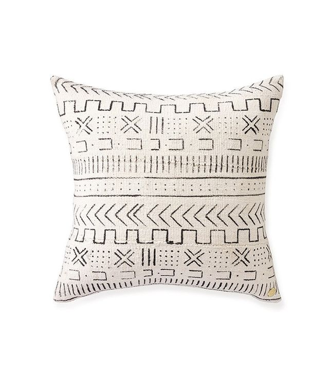 St Frank Mud Cloth Pillow