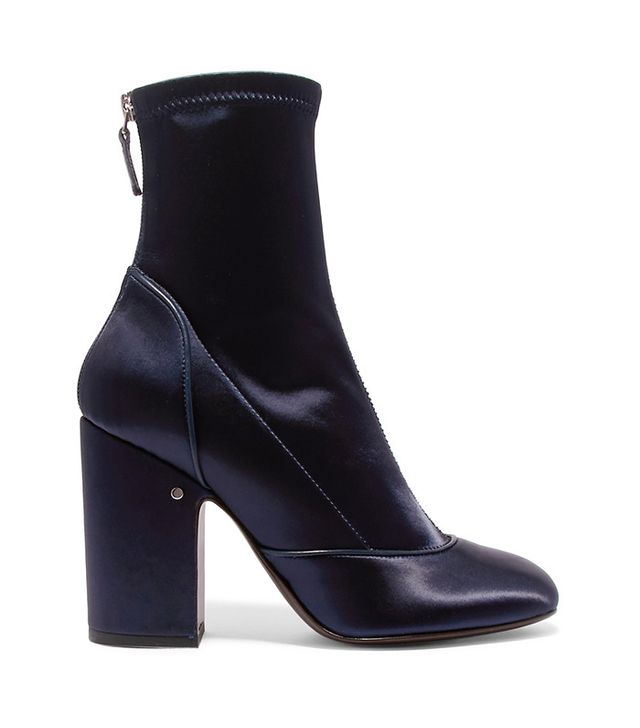 Laurence Dacade Melody Stretch-Satin Boots