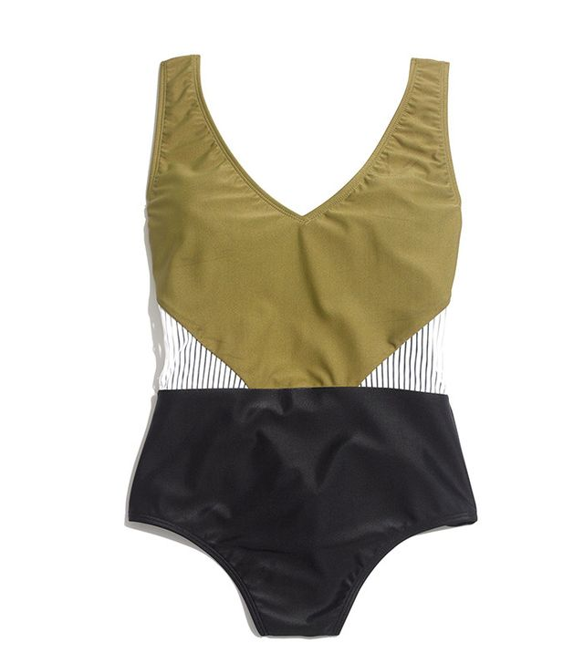 Giejo V Neck Swimsuit