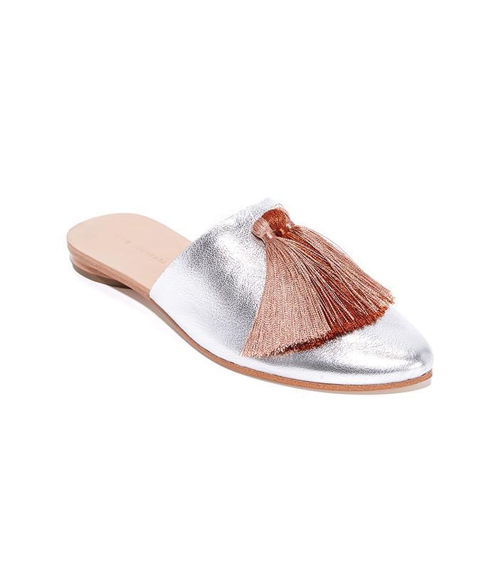 Loeffler Randall Winnie Tassel Slippers