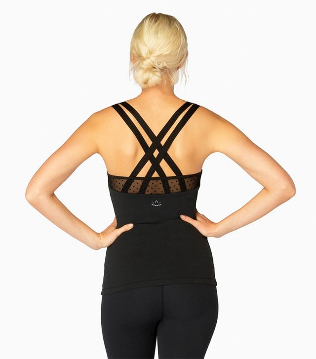 Beyond Yoga Absolutely Dot Mesh Tank